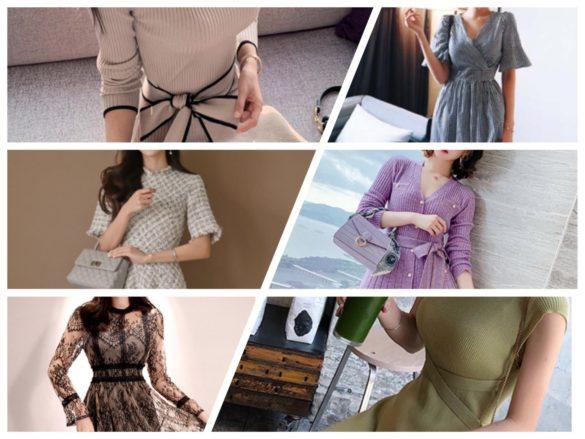春のデート服
